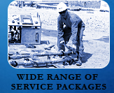 WIDE RANGE OF SERVICE PACKAGES